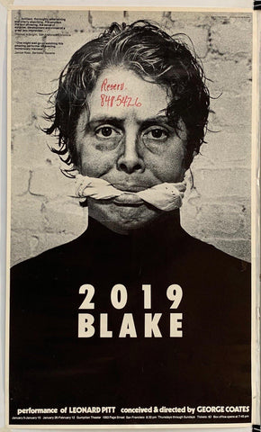 2019 Blake performance of Leonard Pitt