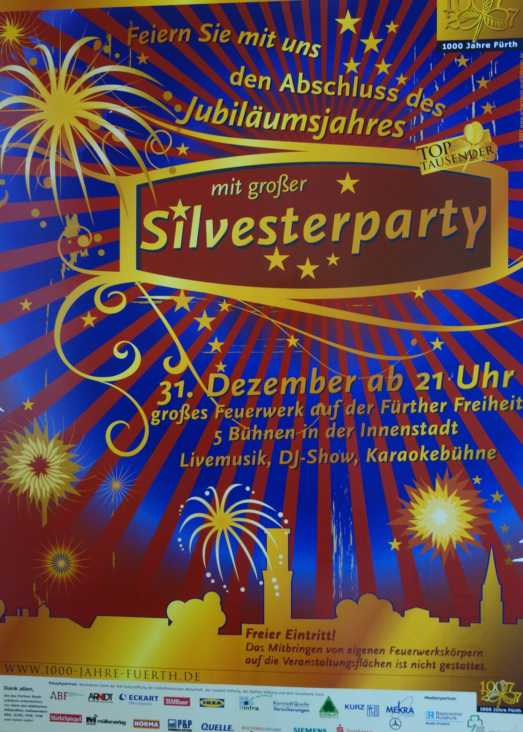 New Years Eve - Silvesterparty