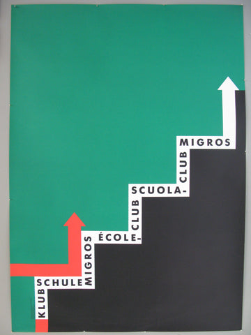 Klubschule Migros Swiss Poster