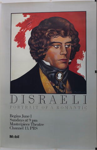 Disraeli Portrait of a Romantic - Poster Museum