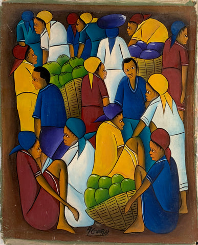 Women With Fruit Baskets