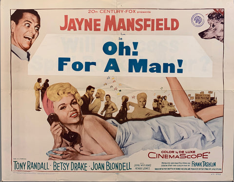 Oh! For A Man! Poster
