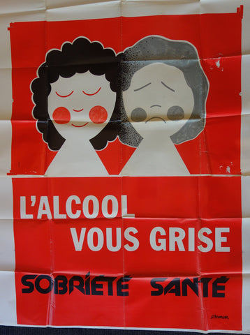 L'Alcool Vous Grise alcohol makes you gray