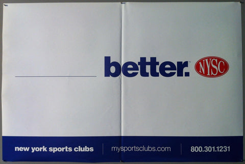 "New York Sports Club ""____ Better """