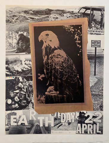 Rauschenberg Earth Day Poster
