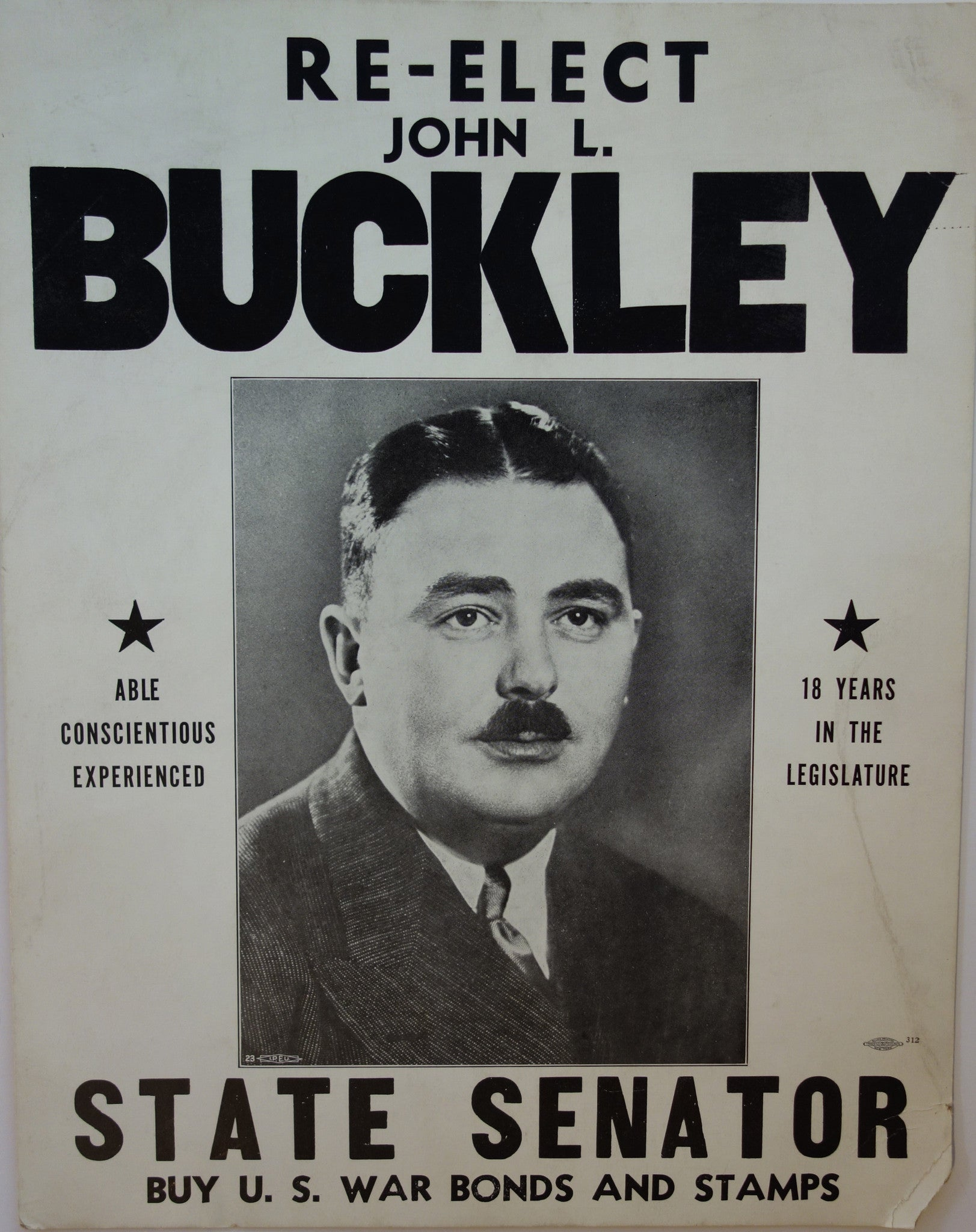 Re-Elect John L. Buckley