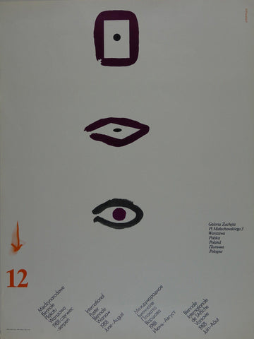 12th International Poster Biennale Warsaw