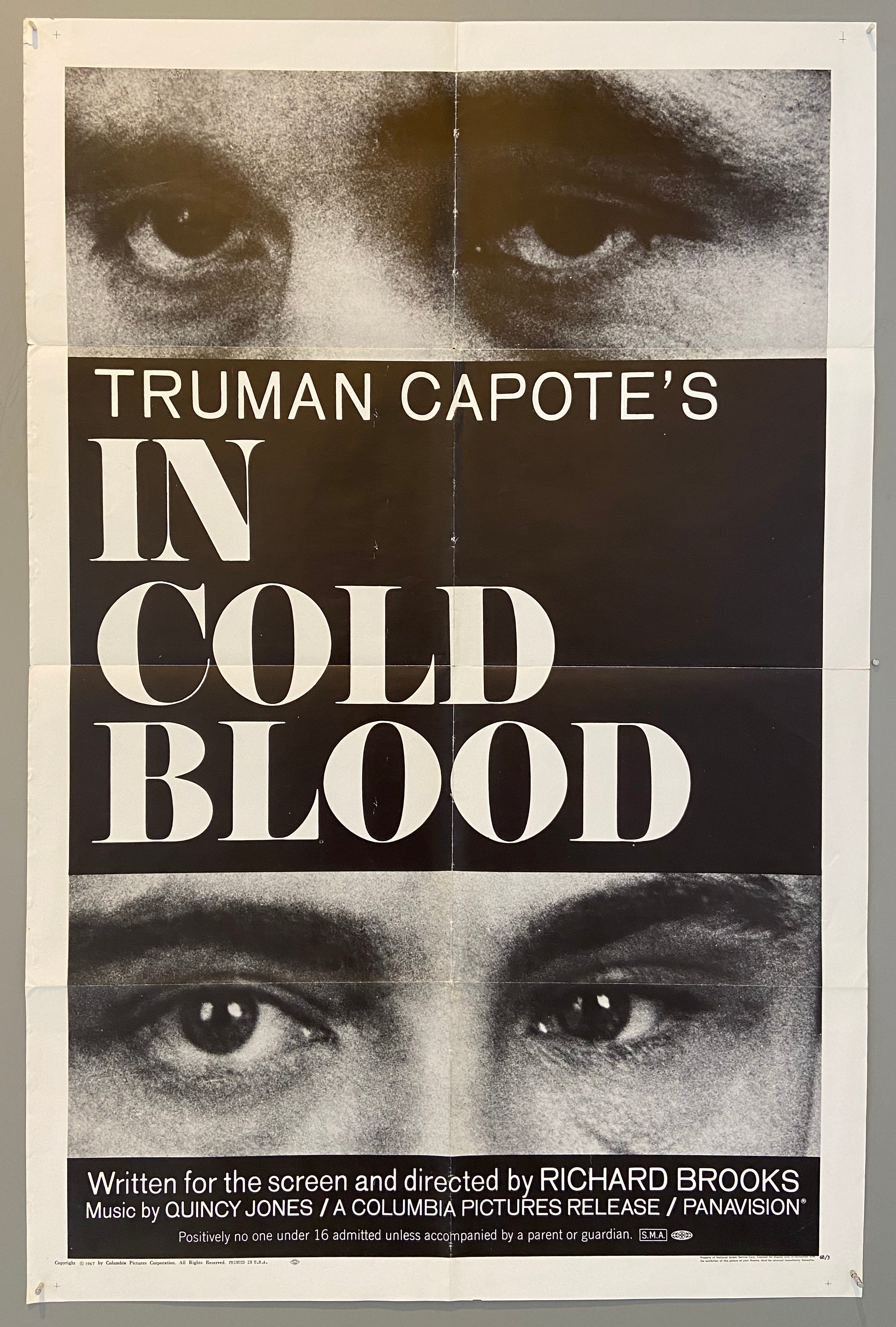 Truman Capote's In Cold Blood – Poster Museum