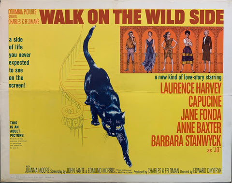 Walk On The Wild Side Film Poster