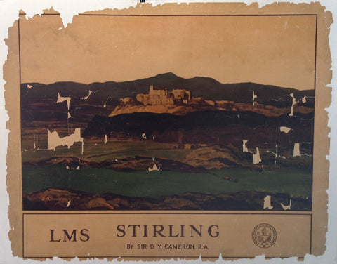 LMS Stirling By Sir D.Y. Cameron. R.A