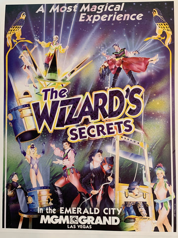 The Wizard's Secrets in the Emerald City MGM Grand