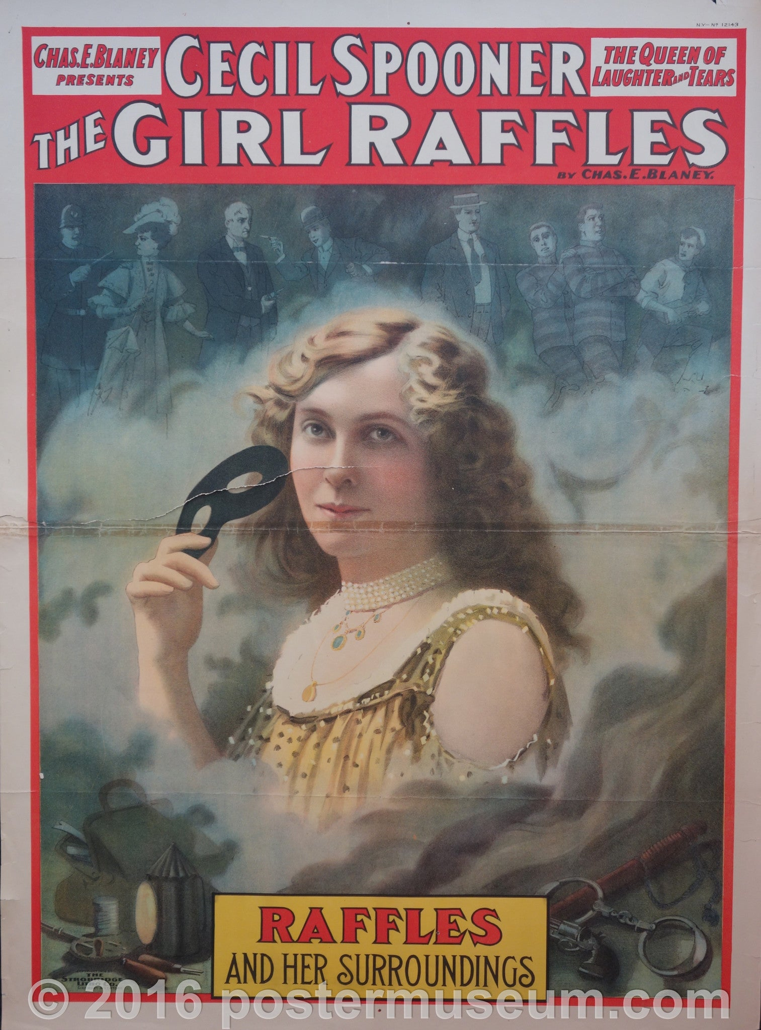 Cecil Spooner the Girl Raffles
