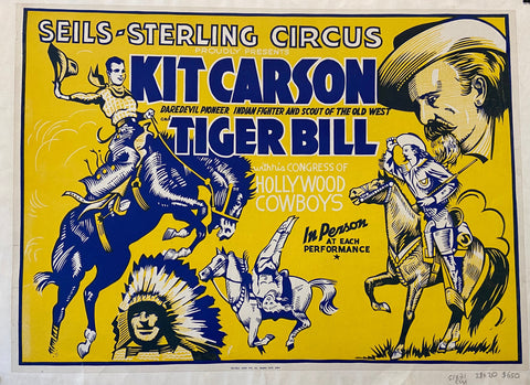 Kit Carson and Tiger Bull