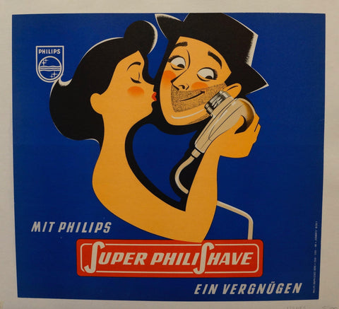 "Mit Philips ""Super Philishave"" Ein Vergnügen"