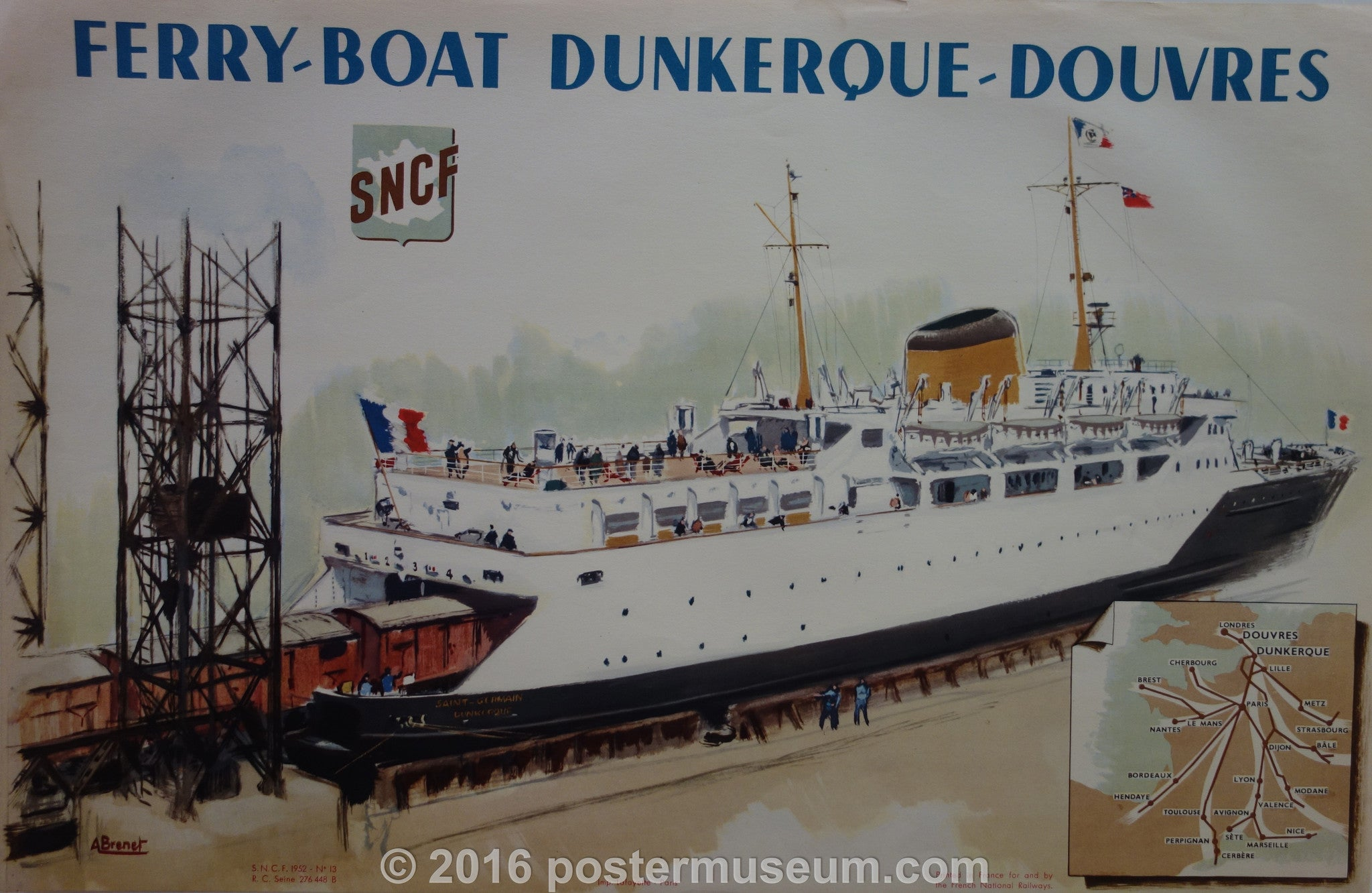 Ferry-Boat Dunkerque-Douvres