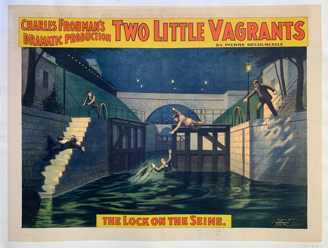Two Little Vagrants Poster