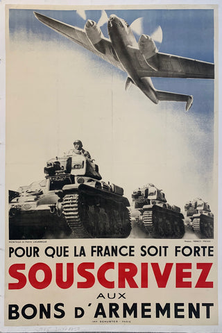 A picture of tanks and planes with the words boldly on the bottom of the print.