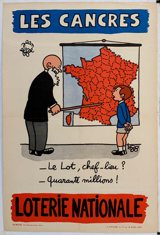 French Lottery Poster - Map Teacher