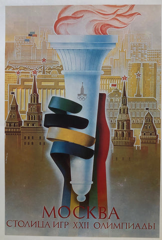 Russian Olympics 1980 (Torch)