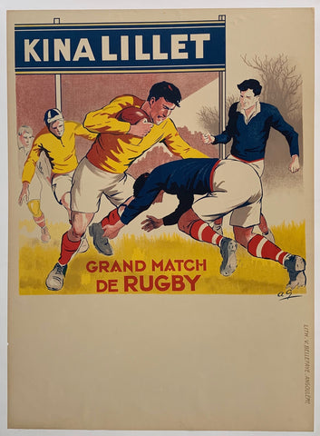 Kina Lillet; Grand Match Rugby