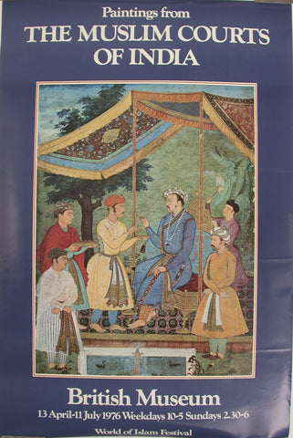 Paintings from The Muslim Courts of India