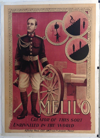 "Melilo ""Creator of this sort Unrivalled in the World"""