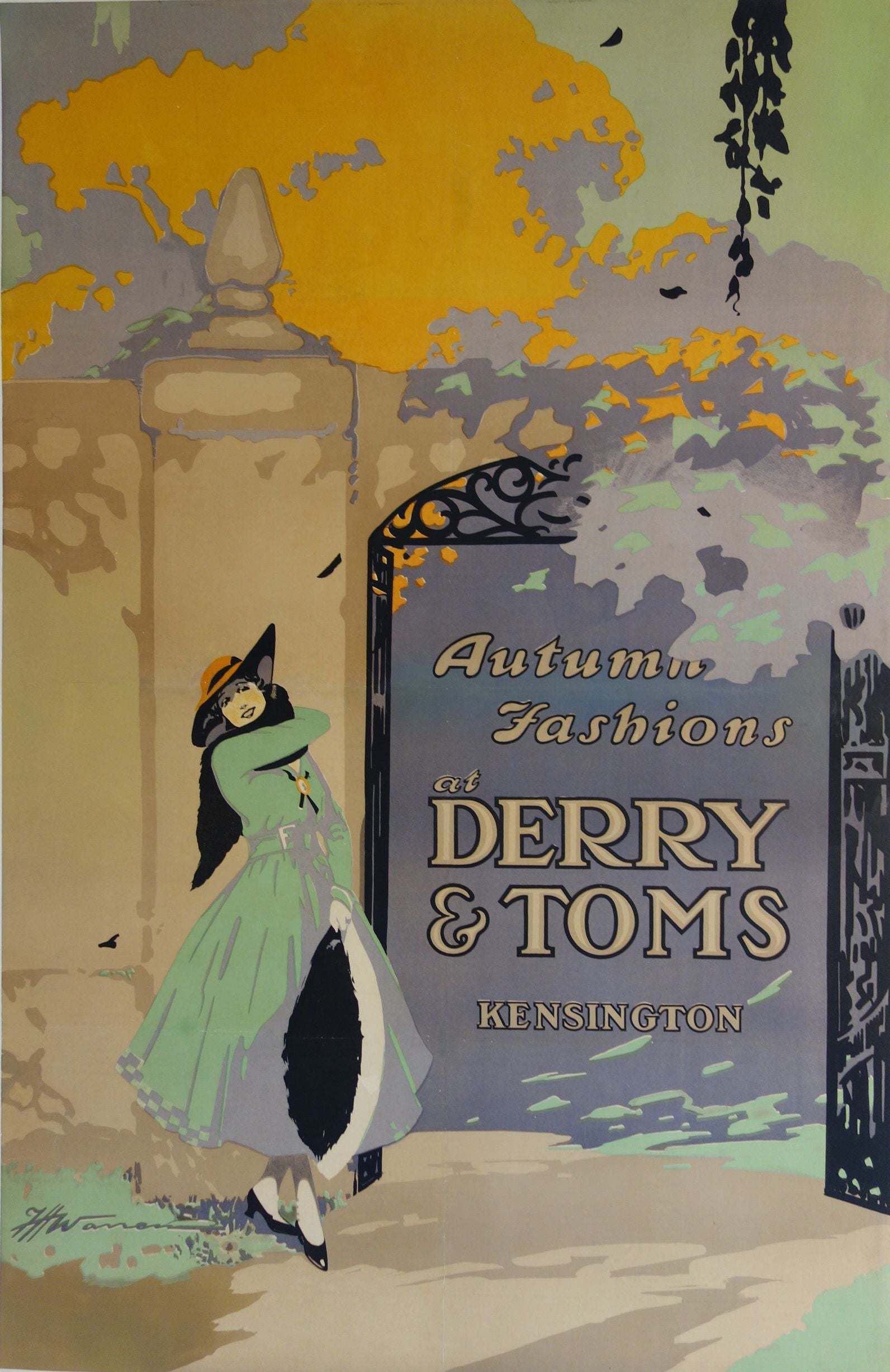 Autumn fashions at Derry & Toms