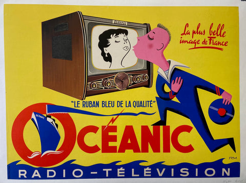 Oceanic Radio-Television Poster