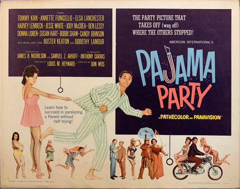 Pajama Party Film Poster