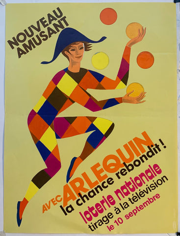 Arlequin Loterie Nationale - Juggling in Yellow