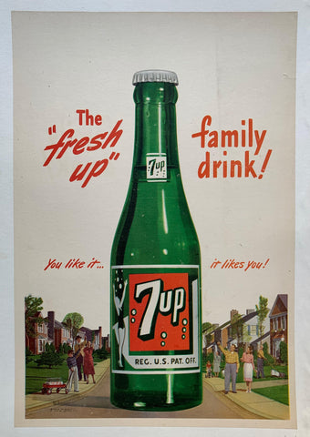 "The ""Fresh Up"" Family Drink! - Poster Museum"