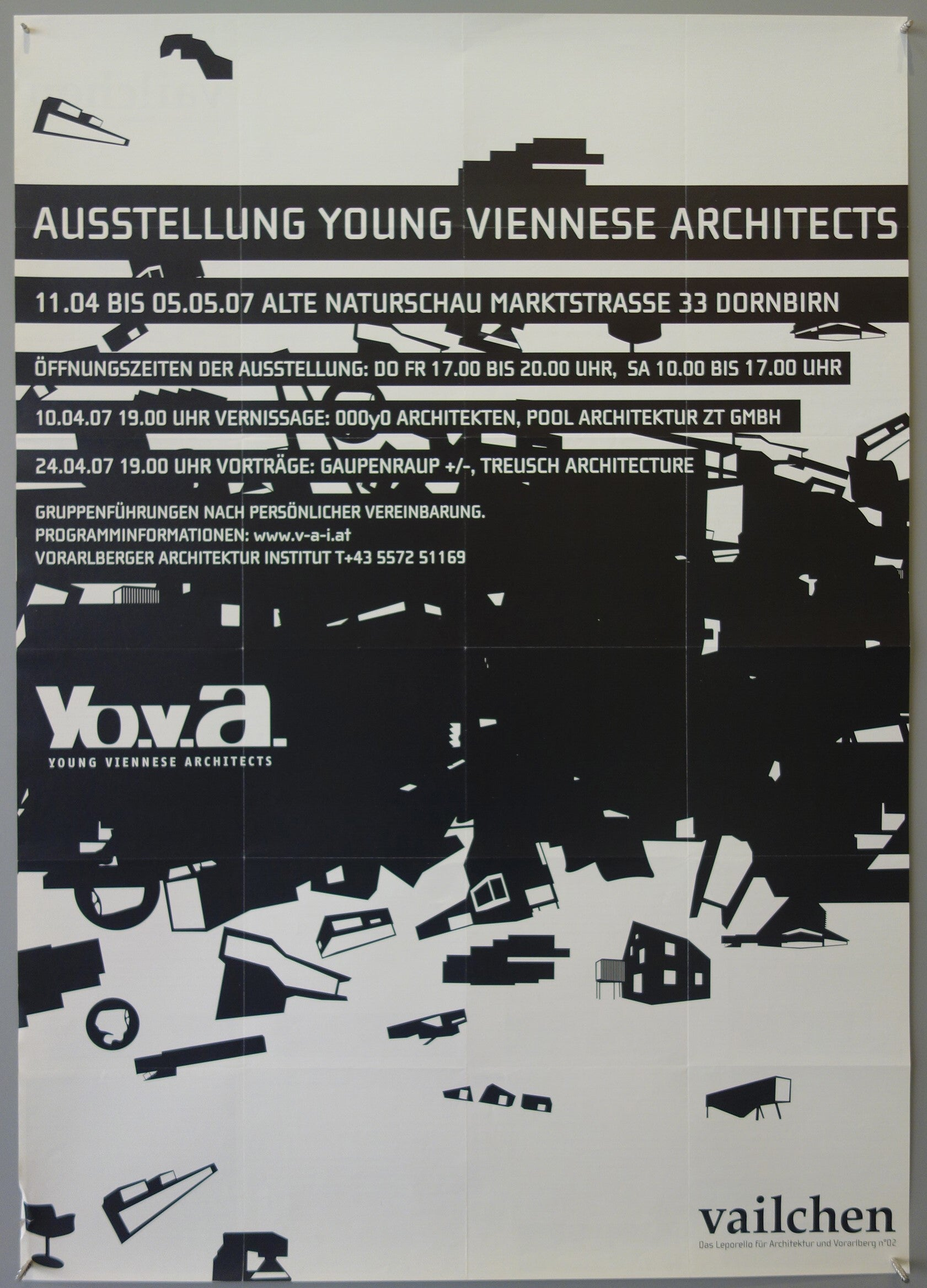 Ausstellung Young Viennese Architects