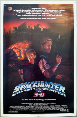 Space Hunter Adventures in the Forbidden Zone in 3D