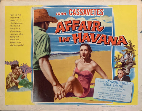 Affair In Havana Film Poster