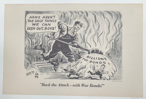 Back the Attack - with War Bonds!