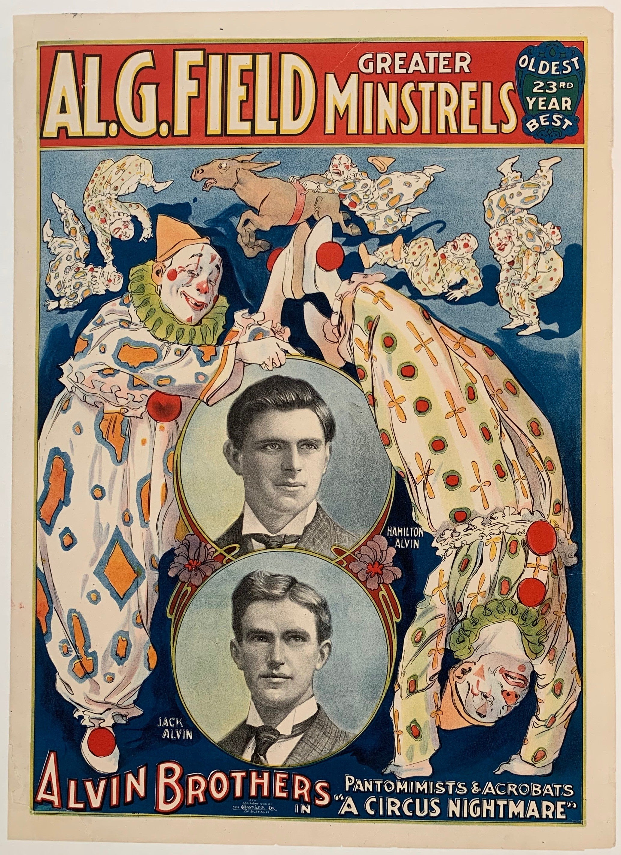 "Alvin Brothers in ""A Circus Nightmare"""