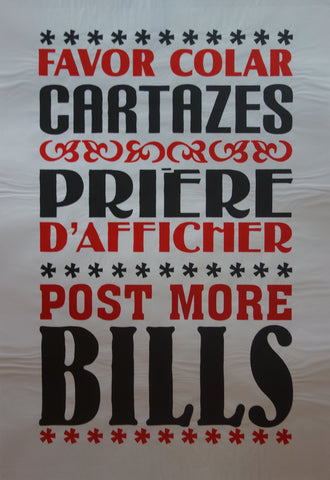 Post More Bills