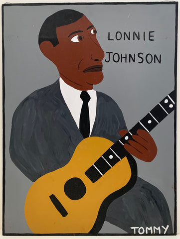 Lonnie Johnson #172 Tommy Cheng Painting