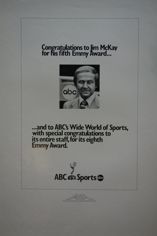 Jim McKay's fifth Emmy Award