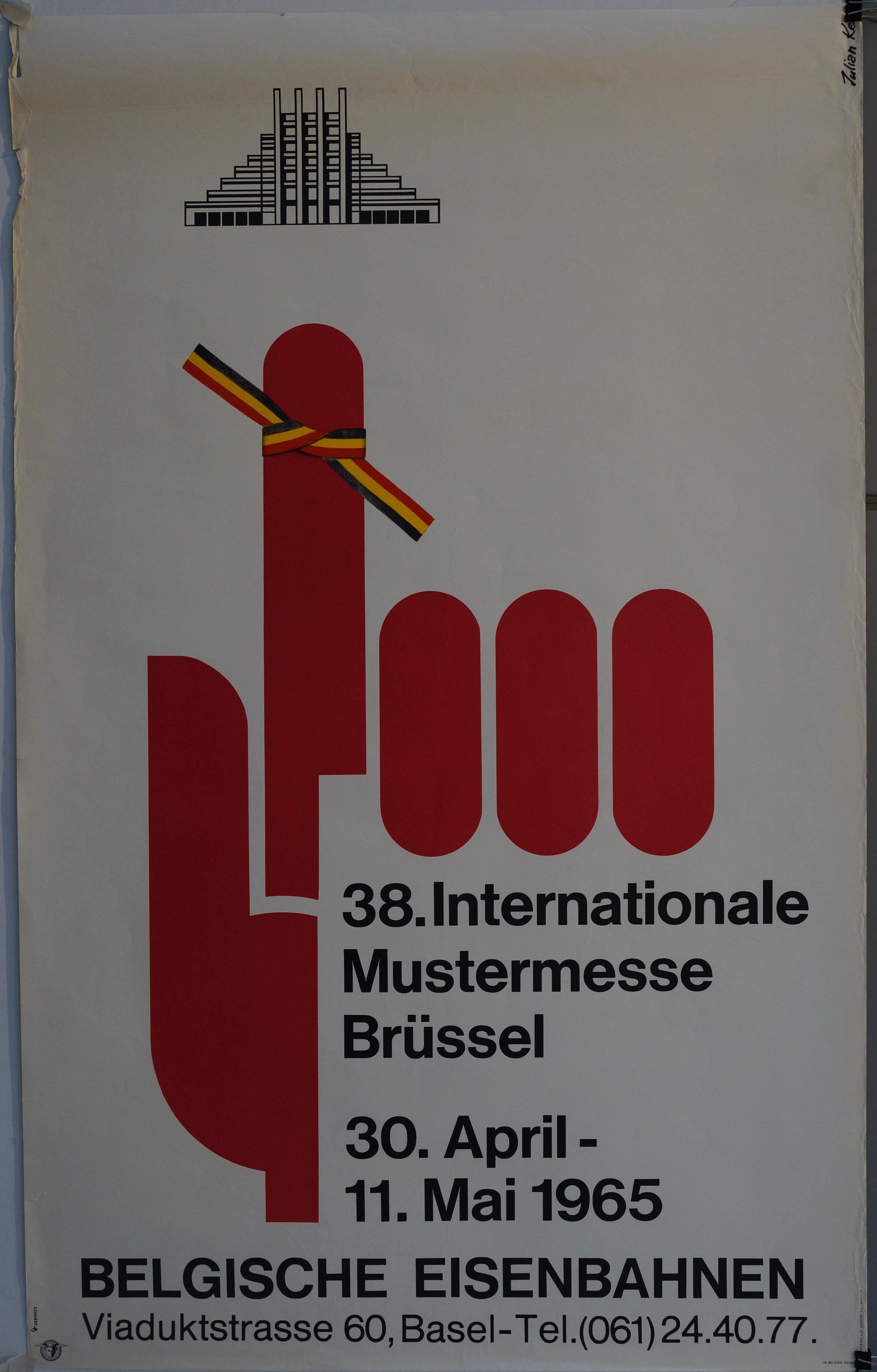 38. Internationale Mustermesse Brüssel