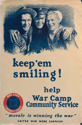 Keep'em Smiling! Help War Camp Community Service