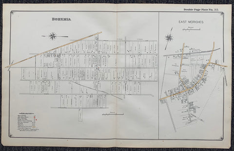 Long Island Index Map No.2 - Plate 35 East Moriches