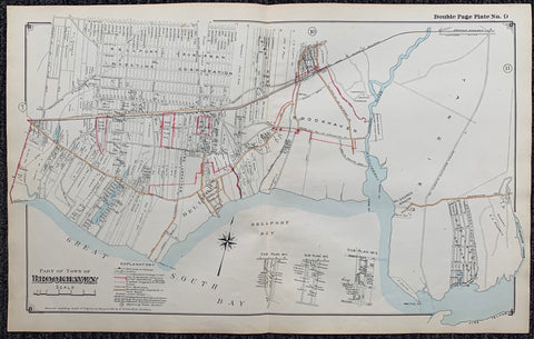 Long Island Index Map No.2 - Plate 9 Brookhaven