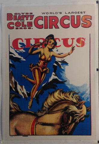 Clyde Beatty and Cole Bros. World's Largest Circus