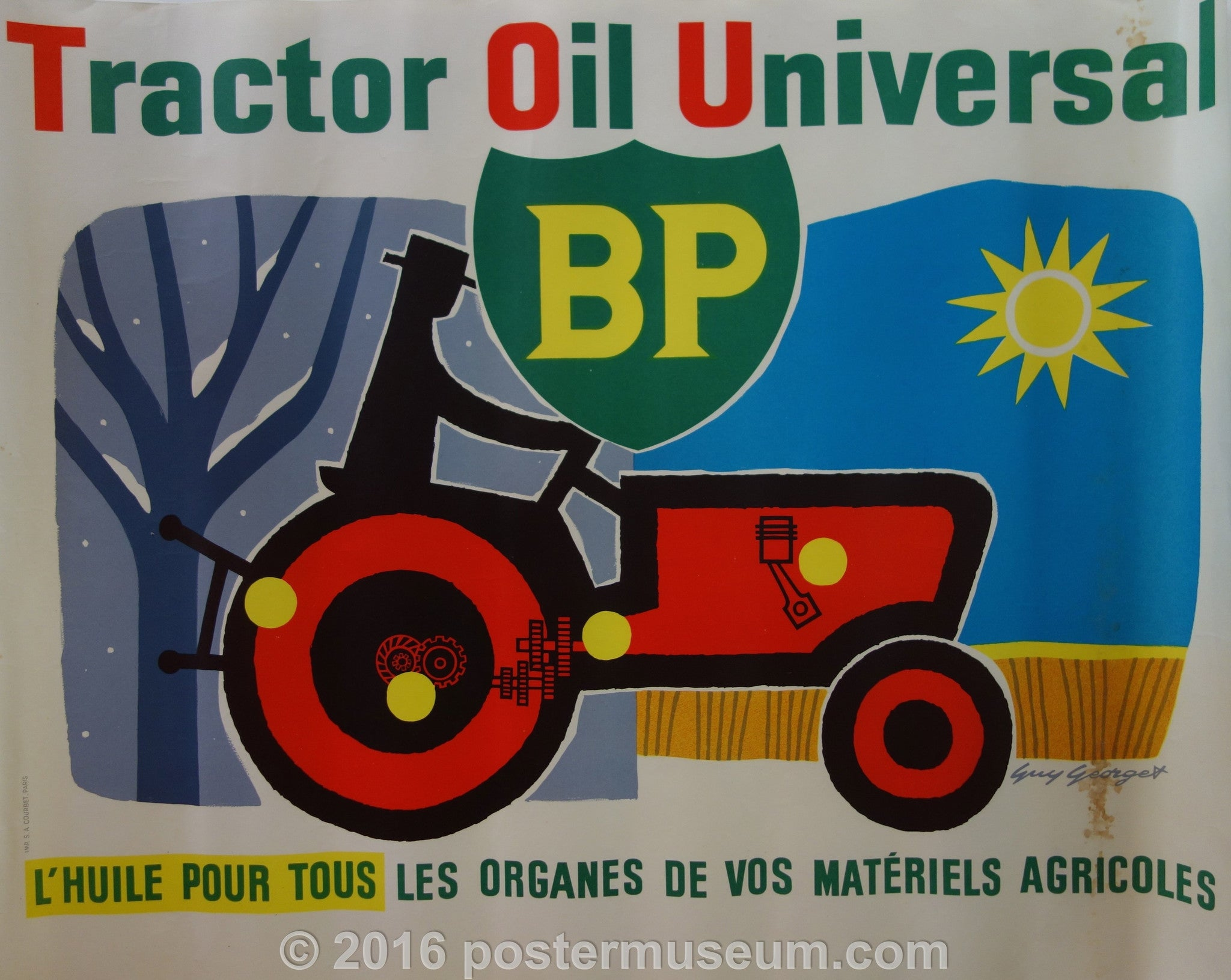 Tractor Oil Universal