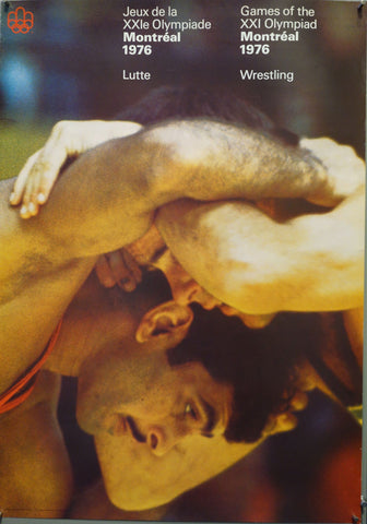 Games of the XXI Olympiad Montreal 1976 Wrestling