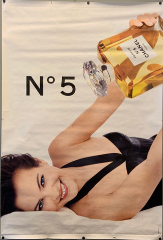 An advertisement for Chanel Number 5.