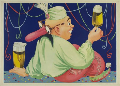 Entertainer with Beer
