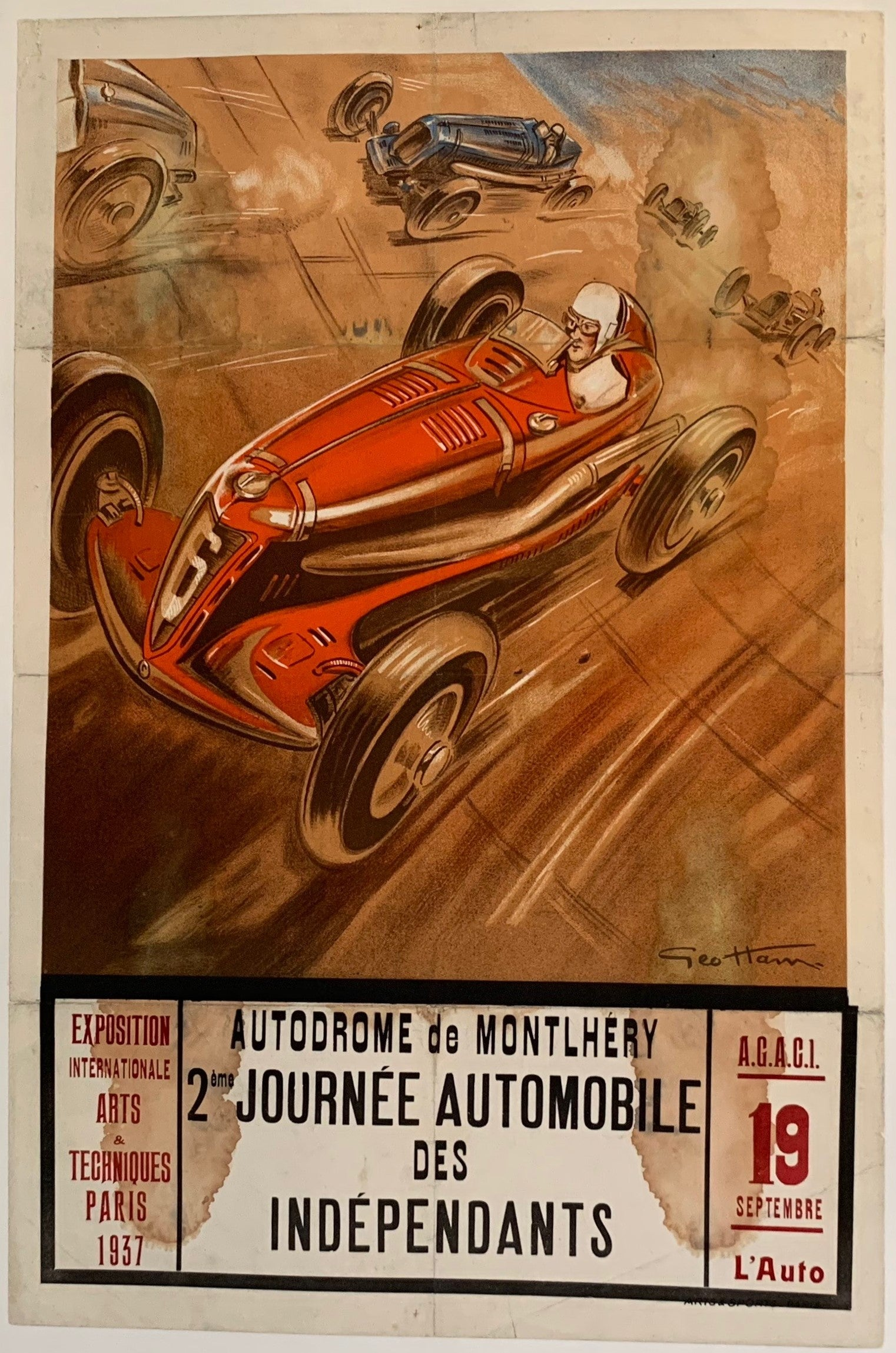 Autodrome de Montlhery 2eme Journee Automobile des Independants