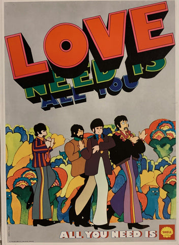 All You Need is Love - Poster Museum